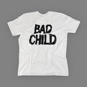 Bad Child: Bad Child - Logo Tee (White)