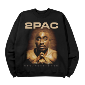 2Pac: UNTIL THE END OF TIME SKETCH CREWNECK