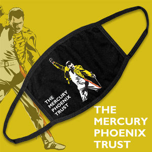 Freddie For A Day: Mercury Phoenix Trust Face Mask