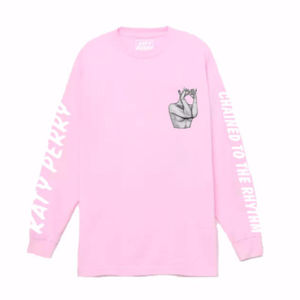 Katy Perry: Chained Pink Long Sleeve T-shirt