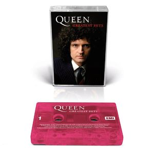 Queen: Greatest Hits Collectors Edition Brian Cover (Transparent Pink)