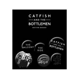 Catfish And The Bottlemen: Catfish Badge Set