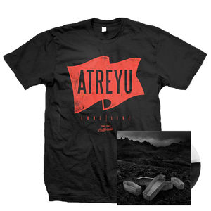 Atreyu: Flag T-Shirt and Vinyl Bundle