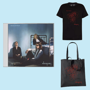 Whenyoung: Black Tee / Black Tote / CD Bundle