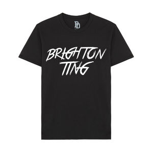 I Play Dirty: Brighton Ting Black T-shirt