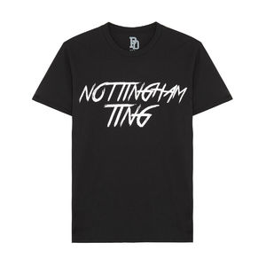 I Play Dirty: Nottingham Ting Black T-shirt