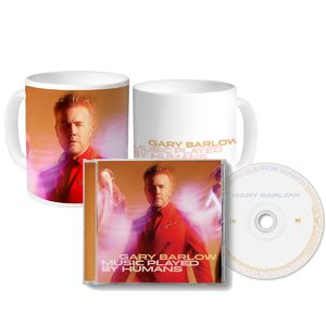 Gary Barlow: Music Played By Humans CD & Mug