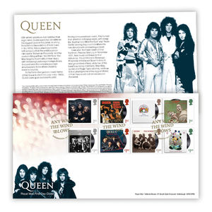 Queen: Stamp Souvenir