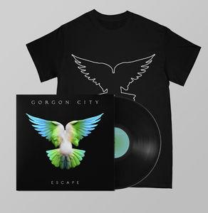 Gorgon  City: ESCAPE SIGNED LP + TEE BUNDLE