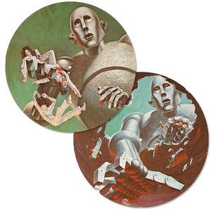Queen: News Of The World Vinyl Slip Mats (Pair)