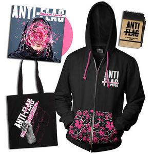 Anti-Flag: Pink Vinyl & American Spring Hoodie, Tote Bag & Notepad