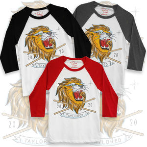 Roger Taylor: 'Taylored' 2020 Lion Baseball Shirt Bundle