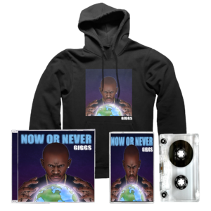 Giggs: Now Or Never: CD, Cassette, Hoodie + Signed Artcard
