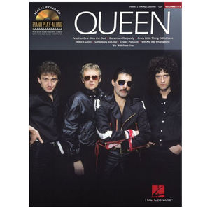 Queen: Queen Piano Play Along (Piano) Sheet Music Book