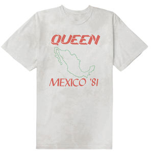 Queen: Mexico 81 Vintage Look T-Shirt