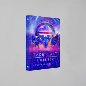 takethat: ODYSSEY GREATEST HITS LIVE BLU-RAY