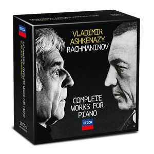 Vladimir Ashkenazy: Rachmaninov: The Complete Works for Piano