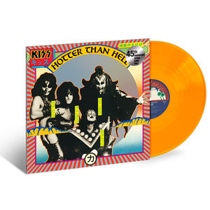 Kiss: Hotter Than Hell: Exclusive Translucent Orange Vinyl