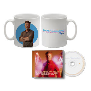 Gary Barlow: Music Played By Humans CD & My Tea Mug