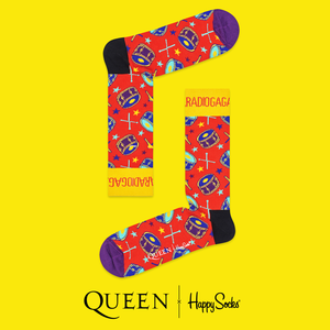 Queen: Radio Ga Ga Happy Socks