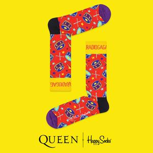 Queen: Radio Ga Ga Happy Socks