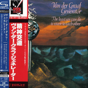 Van Der Graaf Generator: The Least We Can Do Is Wave To Each Other: SHM-CD