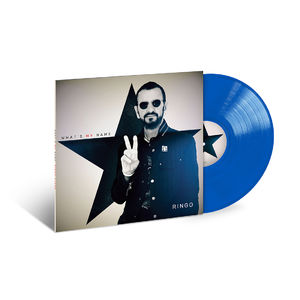 Ringo Starr: What's My Name: Exclusive Blue Coloured Vinyl