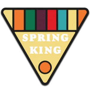 Spring King: Patch Badge
