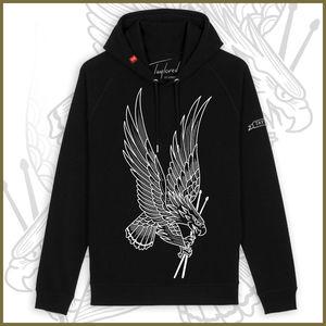 Roger Taylor: 'Taylored' Unisex Freedom Eagle Black