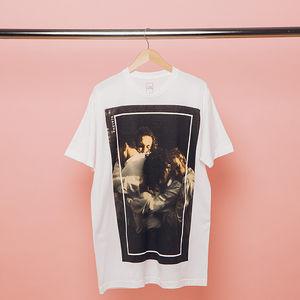 The 1975: White Photo T-Shirt