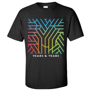 Years & Years: Black Communion T-Shirt
