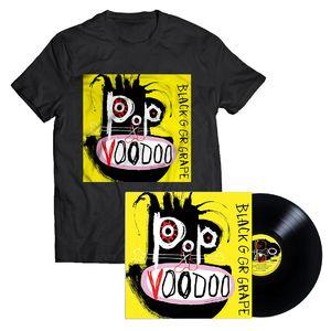 Black Grape: Pop Voodoo Vinyl & T-Shirt Bundle