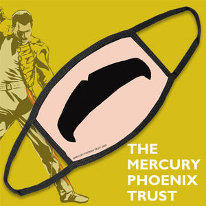 Freddie For A Day: Freddie Moustache Mercury Phoenix Trust Face Mask