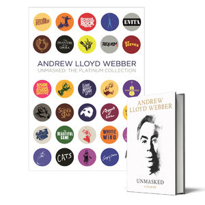 Andrew Lloyd Webber: Unmasked Book + The Platinum Collection: Limited Edition