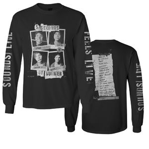 5 Seconds of Summer: Sounds Live Feels Live Set-List Longsleeve