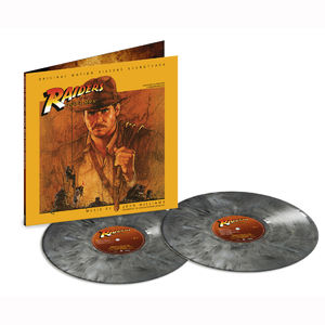 John Williams: Raiders Of The Lost Ark: Exclusive Boulder Coloured Vinyl