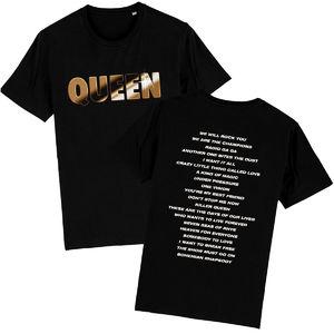Queen: Chrome Logo T-Shirt