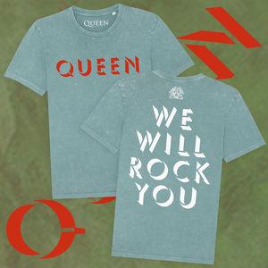 Queen: Queen We Will Rock You T-Shirt