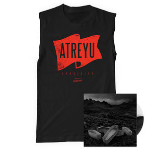 Atreyu: Flag Tank and Vinyl Bundle