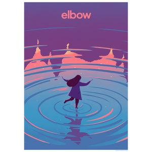 Elbow: Simplicity 2017 Tour Litho