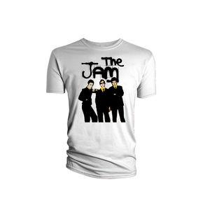 Paul Weller: The Jam Group Pic White Men's T-Shirt