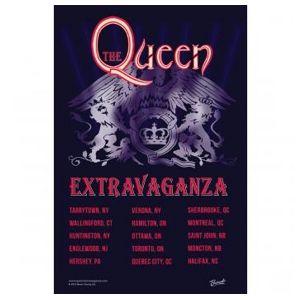 queen_extravaganza: Queen Extravaganza Tour Poster