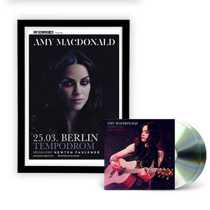Amy Macdonald: Limited Edition Signed Poster & Live in Berlin CD/DVD