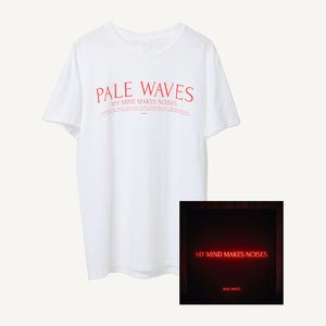 Pale Waves: My Mind Makes Noises T-Shirt Bundle