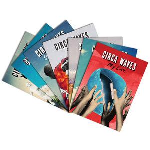Circa Waves: Singles Artwork Postcard Set