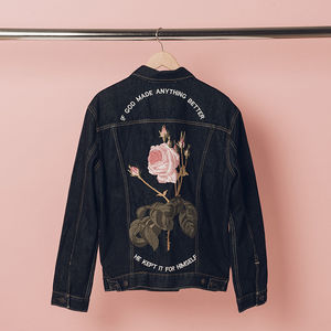 The 1975: Anything Better Denim Jacket