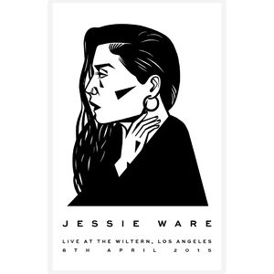 Jessie Ware: Live at The Wiltern, Los Angeles Screenprint