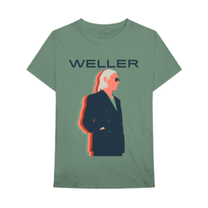 Paul Weller: Graphic T-Shirt - Green