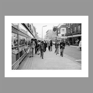 Motown: Jackson 5: A Royal Occasion - Black and White A3 Photo Print