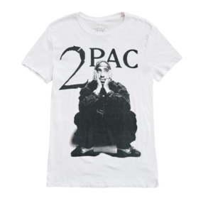 2Pac: LOOKING UP T-SHIRT